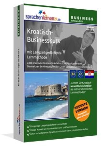 Business Kroatisch Sprachkurs Businesskurspaket