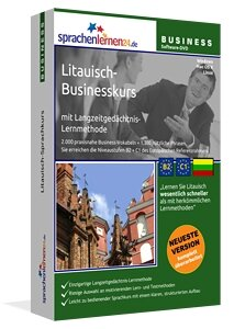 Business Litauisch Sprachkurs Businesskurspaket