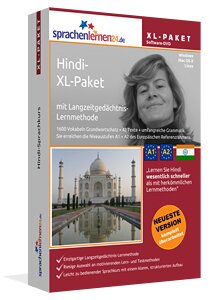 Hindi Sprachkurs XL-Paket